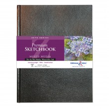 Stillman & Birn : Zeta Sketchbook 8.25 x 11.75in (A4) Hardbound 270gsm - Natural White Smooth