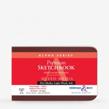 Stillman & Birn : Alpha Softcover Sketchbook : 150gsm : Med Grain : 5.5x3.5in (14x9cm) : Landscape