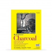 Strathmore : 300 Series : Charcoal Pad : 95gsm : 32 Sheets : 9x12in