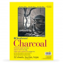 Strathmore : 300 Series : Charcoal Pad : 95gsm : 32 Sheets : 11x17in