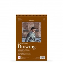 Strathmore : 400 Series : Spiral Drawing Pad : 163gsm : 24 Sheets : A4