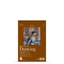 Strathmore : 400 Series : Spiral Drawing Pad : 163gsm : 24 Sheets : A5