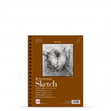 Strathmore : 400 Series : Spiral Sketch Pad : 89gsm : 100 Sheets : A5