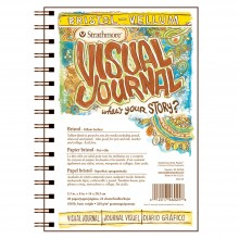 Strathmore : Visual Journal : Bristol Pad : 260gsm : 5.5x8in : Vellum