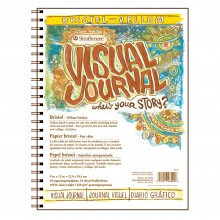 Strathmore : Visual Journal : Bristol Pad : 260gsm : 9x12in : Vellum