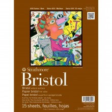 Strathmore : 400 Series : Bristol Pad : 11x14in : 2Ply Vellum (Medium)
