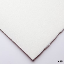 Somerset : Printmaking Paper : 56x76cm : 300gsm : White : Textured : Pack of 25