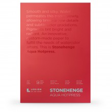 Stonehenge : Aqua Watercolour Paper Block : 140lb (300gsm) : 12x16in : Hot Pressed