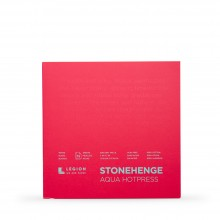 Stonehenge : Aqua Watercolour Paper Block : 140lb (300gsm) : 7x7in : Hot Pressed