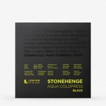 Stonehenge : Aqua Black Watercolour Paper Pad : 140lb (300gsm) : 7x7in : Not