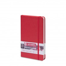 Royal Talens : Art Creation : Hardback Sketchbook : 13x21cm : Red
