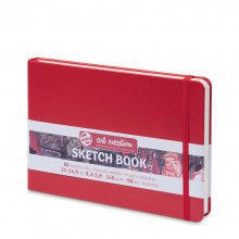Royal Talens : Art Creation : Hardback Sketchbook : 15x21cm : Red