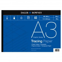 Daler Rowney : Tracing Pad : 60gsm : 50 sheets : A3