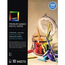 UART : Sanded Pastel Paper : 10 Sheet Pack : 12x18in (30x46cm) : 500 Grade