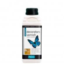 Polyvine : Dead Flat Decorators Varnish (interior/exterior) : 500 ml