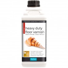 Polyvine : Heavy Duty Floor Varnish : Satin Finish : 2 Litre : Ship By Road Only