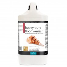 Polyvine : Heavy Duty Floor Varnish : Satin Finish : 4 Litre : By Road Parcel Only