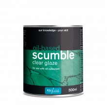 Polyvine : Oil Based Scumble Glaze : 500 ml (By Road Parcel Only)