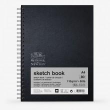 Winsor & Newton : Spiral Sketch Book : 110gsm : 80 Sheets : A4