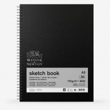 Winsor & Newton : Spiral Sketch Book : 200gsm : 50 Sheets : A3