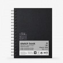 Winsor & Newton : Spiral Sketch Book : 200gsm : 50 Sheets : A5