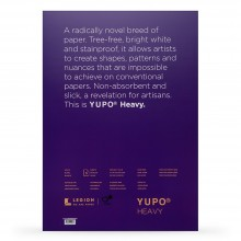 Yupo : Heavy Watercolour Paper Pack : 144lb (390gsm) : A3 : 5 Sheets : White