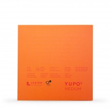 Yupo : Medium Watercolour Paper Pad : 74lb (200gsm) : 7x7in : 10 Sheets : White