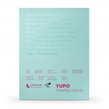 Yupo : Transluscent Watercolour Paper Pad : 104lb (153gsm) : 9x12in : 10 Sheets