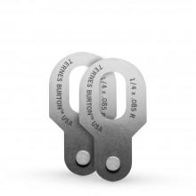Ternes Burton : Register Pin : 1/4in x 0.85R : Pack of 2