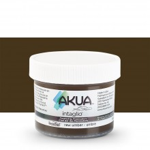 Akua : Intaglio Ink : 2oz : 59ml : Raw Umber