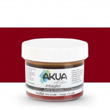 Akua : Intaglio Ink : 2oz : 59ml : Red Oxide