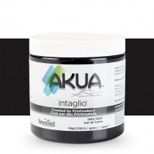 Akua : Intaglio Ink : 8oz : 236ml : Lamp Black