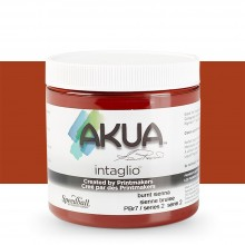 Akua : Intaglio Ink : 8oz : 236ml : Burnt Sienna