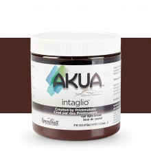 Akua : Intaglio Ink : 8oz : 236ml : Vandyke Brown
