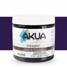 Akua : Intaglio Ink : 8oz : 236ml : Carbazole Violet