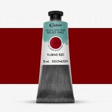 Caligo : Safe Wash : Relief Ink : 75ml : Rubine Red