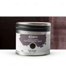 Cranfield : Traditional Letterpress Ink : 500g : Plum Black