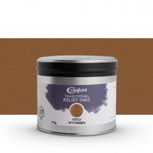 CRANFIELD : Traditional Relief Ink : 500g : Gold