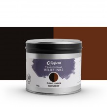 CRANFIELD : Traditional Relief Ink : 500g : Burnt Umber