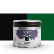 CRANFIELD : Traditional Relief Ink : 500g : Phthalo Green