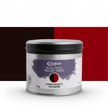 CRANFIELD : Traditional Relief Ink : 500g : Rubine Magenta