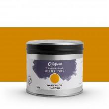 CRANFIELD : Traditional Relief Ink : 500g : Warm Yellow (Hansa)