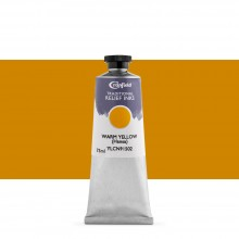 Cranfield : Traditional Relief Ink : 75ml : Warm Yellow (Hansa)