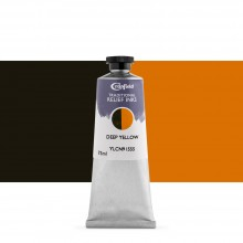 Cranfield : Traditional Relief Ink : 75ml : Deep Yellow (Diarylide)