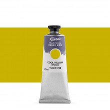 Cranfield : Traditional Relief Ink : 75ml : Cool Yellow (Hansa)