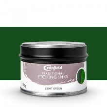 Cranfield : Traditional Etching Ink : 250g : Light Green