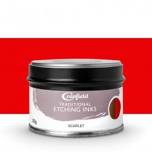 Cranfield : Traditional Etching Ink : 250g : Scarlet