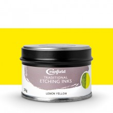 Cranfield : Traditional Etching Ink : 250g : Lemon Yellow