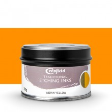 Cranfield : Traditional Etching Ink : 250g : Indian Yellow