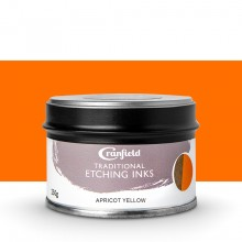 Cranfield : Traditional Etching Ink : 250g : Apricot Yellow
